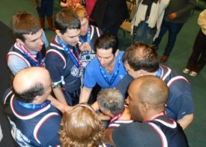 new jersey injury attorney todd leonard coaches special olympics basketball team