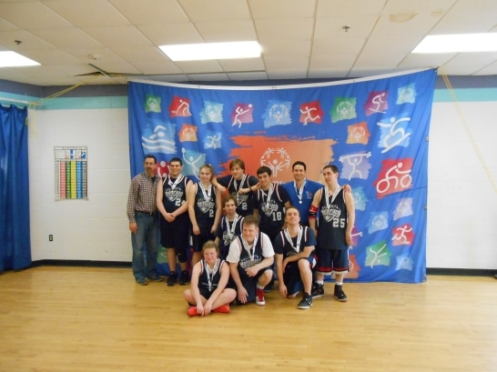 Special Olympics Basketball Team 2014