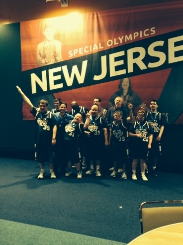 coaching the special olympics